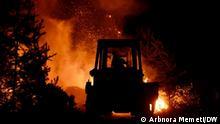 4.5.2021, Nähe Pehchevo, Nordmazedonien, Waldbrände in der Region der Stadt Pehchevo in Nordmazedonien / Redakteur: Boris Georgievski
