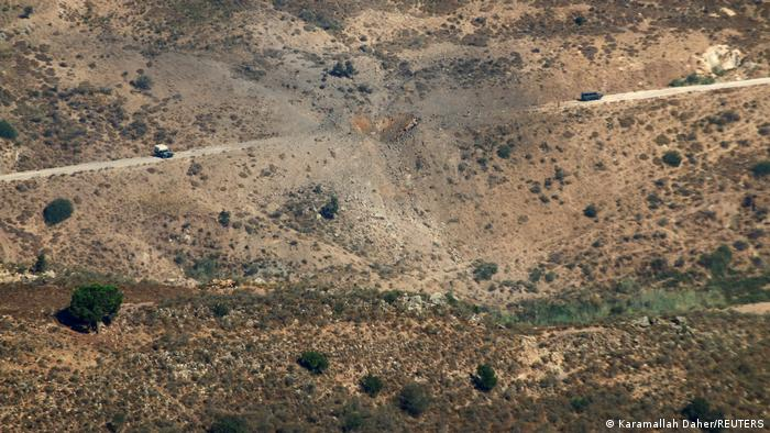 Ізраїльска бомба влучила в дорогу на півдні Лівану