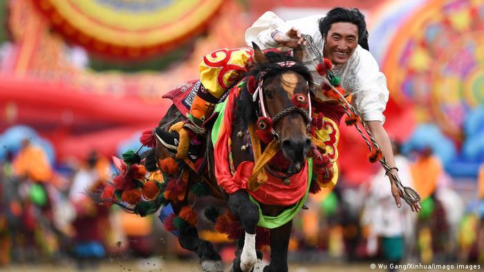 Konjske utrke u Tibetu