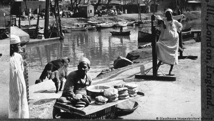 Ägypten | Brot und Gebäck Verkäufer | Mahmudiyeh-Kanal