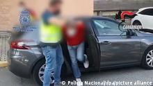 05.08.2021***Das Standbild aus einem von der spanischen Nationalpolizei zur Verfügung gestellten Video zeigt einen 'Ndrangheta-Boss nach seiner Festnahme in Madrid. Die spanische Polizei hat einen hochrangigen italienischen Mafia-Boss gefasst. (zu dpa «Italienischer Mafia-Boss in Madrid gefasst») +++ dpa-Bildfunk +++
