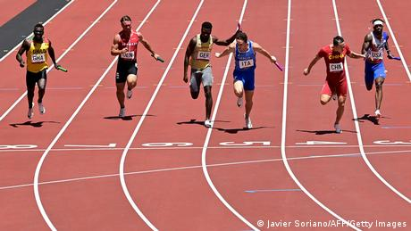 Olympische Spiele Tokoi 4x100-m-Staffel der Männer