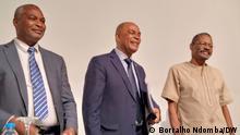 5.8.2021, Angola, Führer der Angolanischen Patriotischen Front, Abel Chivukuvuku, Adalberto Costa Júnior e Filomeno Vieira Lopes fordern Sie ein nationales Notfallprogramm