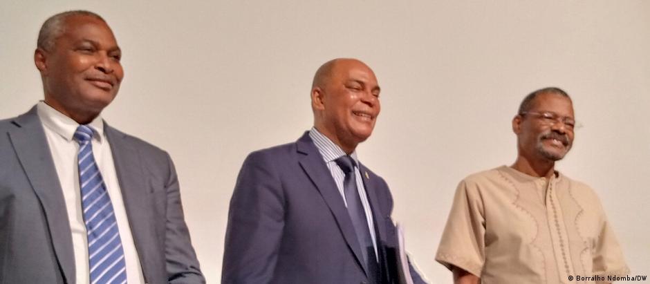Abel Chivukuvuku, Adalberto Costa Júnior e Filomeno Vieira Lopes