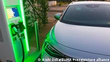 July 31, 2021: A new Electrify America electric vehicle charging station in San Diego, California on Friday, July 30th, 2021 included Volkswagen and Nissan electric vehicles. (Credit Image: © Rishi DekaZUMA Press Wire