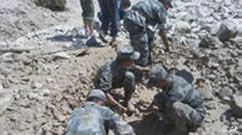 10,000 police and troops have been deployed to help with rescue efforts