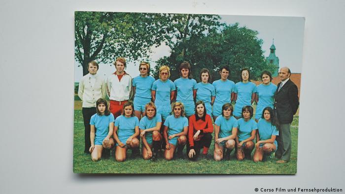 1981年到台湾参赛的女足队