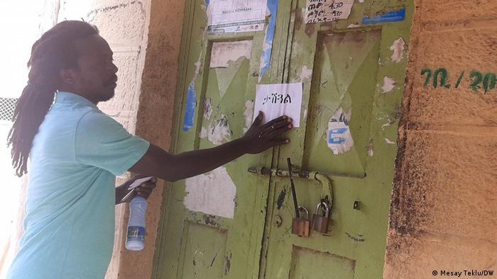 Äthiopien | Dire Diwa | Geschlossene Läden