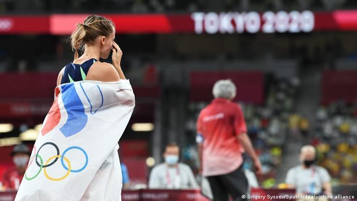 Российская легкоатлетка Анжелика Сидорова