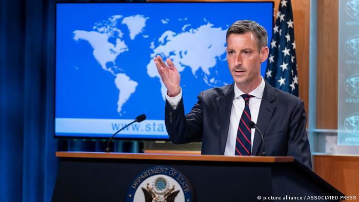 Ned Price, Sprecher des US-Außenministeriums