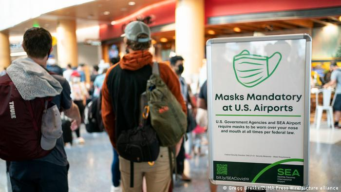 As outbreaks the delta variant of the coronavirus ravage communities, record number of travelers are taking to the skies at Seattle
