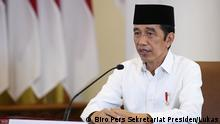"""2021 Jakarta, President Joko Widodo. President Joko """"Jokowi"""" Widodo recently urged the Health Ministry and the national COVID-19 task force to improve and speed up the country's testing capacity."""