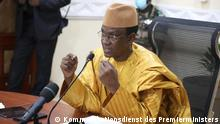 Übergangs-Ministerpräsidenten Choguel Kokalla Maïga. Kommunikationsdienst des Premierministers.