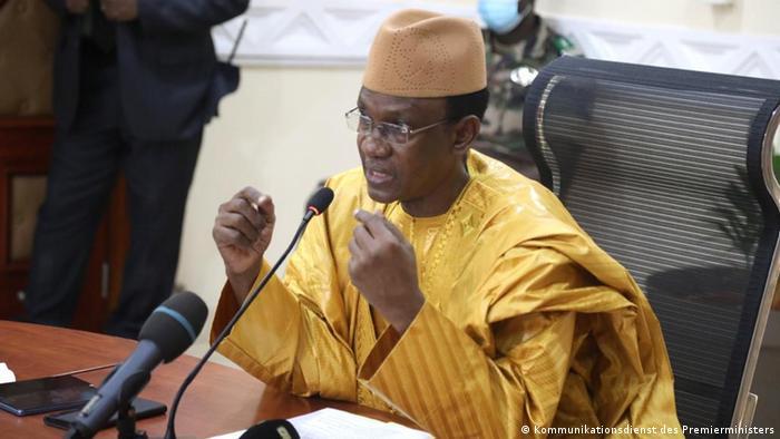 Mali   Übergangs-Ministerpräsidenten Choguel Kokalla Maïga