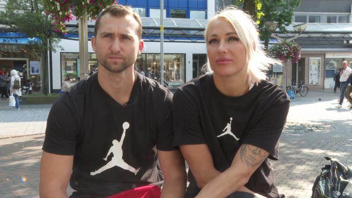 Яна Максимова и Андрей Кравченко в Дуйсбурге
