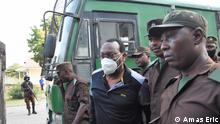 Photos showing moments when chairperson of the main oppositon party in Tanzania CHADEMA, Freeman Mbowe was taken to court facing terrorism charges.