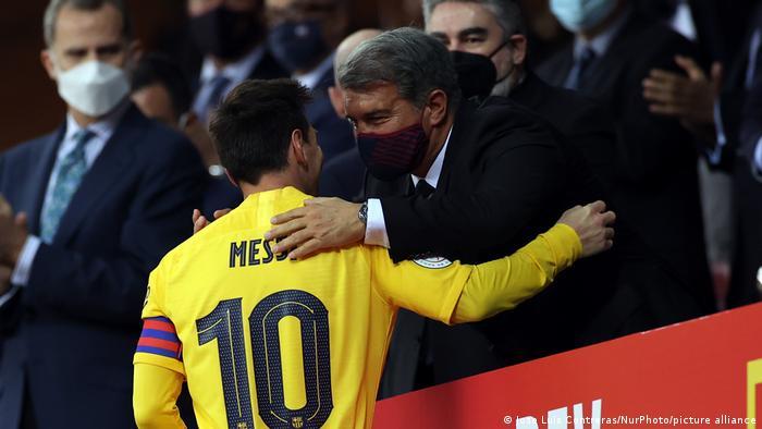 Spanien, Sevilla | Lionel Messi beim Finale Copa del Rey