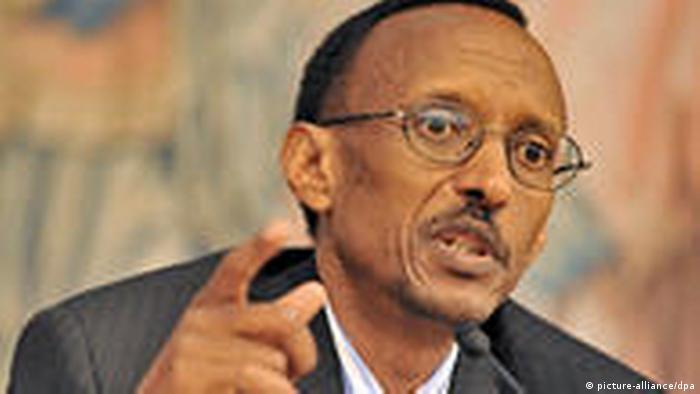 Ruanda Präsidentschaftswahl 2010 Afrika Kigali Paul Kagame (picture-alliance/dpa)