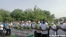Tree planting in Dire Dawa in memory of flood victims in Dire Dawa Datum: 06.08.21