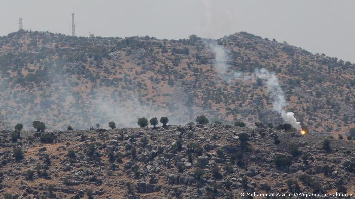 Hisbollah schießt Raketen auf Israel