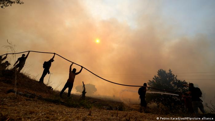Griechenland Waldbrände 2021