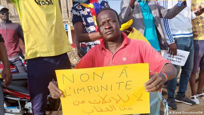 Tschad N'Djamena | Demonstration der wakit Tama Bewegung