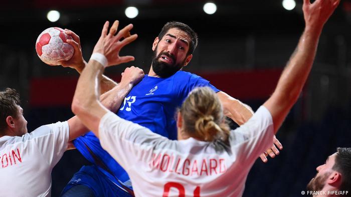 Tokyo 2020 Olympics | Handball - Frankreich v Dänemark Nikola Karabatic