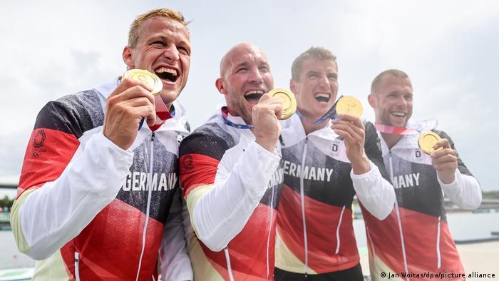 El equipo olímpico alemán logró 37 medallas en total en Tokio 2020 y quedó noveno en el ránking internacional. Este es su peor registro desde la reunificación del país en 1990. En comparación, los deportistas alemanes obtuvieron 42 medallas en Río 2016, 44 en Londres 2012, 41 en Pekín 2008, 49 en Atenas 2004 y 56 en Sídney 2000 (08.08.2021).