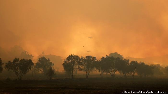07/08/2021 I Waldbrände in der Türkei