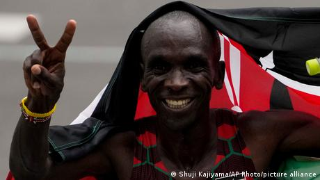 Tokyo Olympics digest: Eliud Kipchoge defends marathon gold