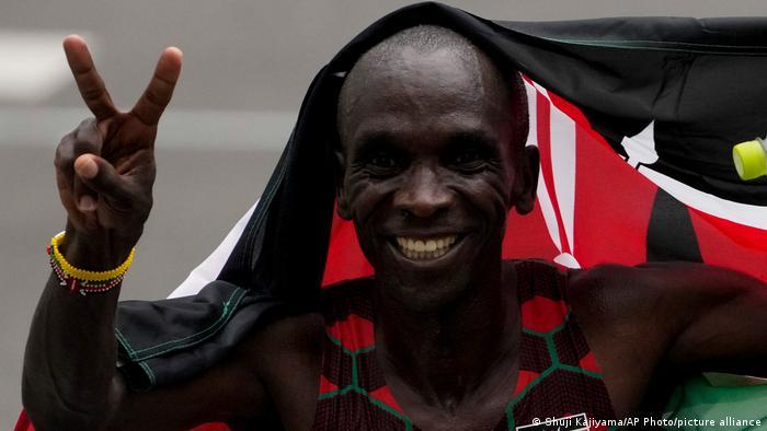 Tokio 2020 | Leichtathletik | Goldmedaille | Eliud Kipchoge aus Kenia