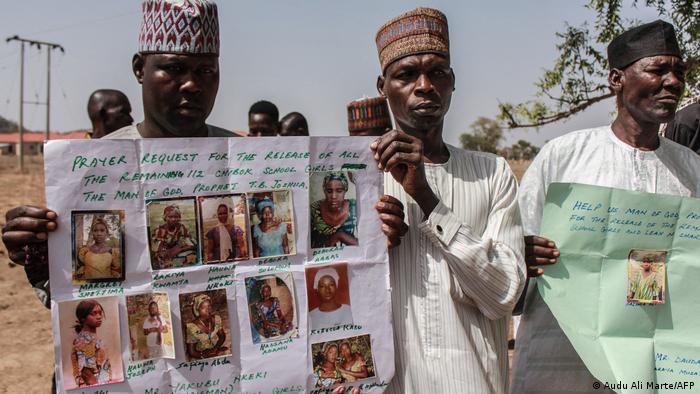 Nigeria Gedenken Entführung 200 Chibok Schülerinnen