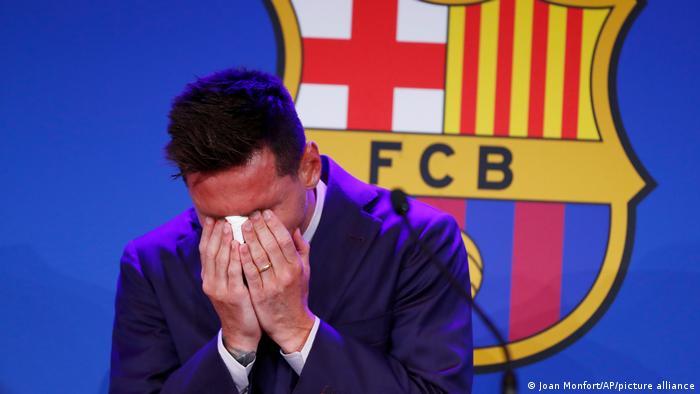 Spanien | Pressekonferenz | Fußballer Lionel Messi