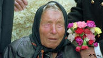 Vangelia Gushterova bekannt als Baba Wanga im Jahre 1994