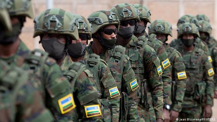 Ruanda | Kigali | Ruandische Militärtruppen