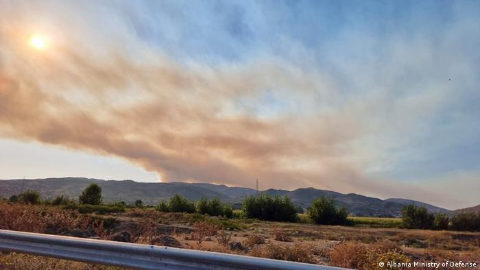 Albanien | Waldbrände