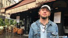 Sébastien Dauzet arbeitete am 13. November 2015 als Barkeeper in La Bonne Bière. (Lisa Louis, Paris, August 2, 2021)