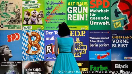 Afişe electorale din istoria Republicii Federale Germania
