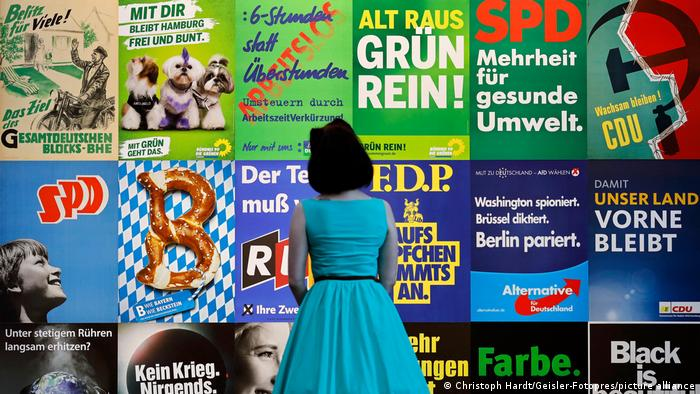 Ausstellung | Wähl mich! Parteien plakatieren |im Haus der Geschichte in Bonn