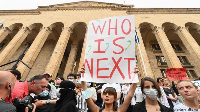 Georgien |Gewalt gegen LGBTQ | Proteste in Tiflis