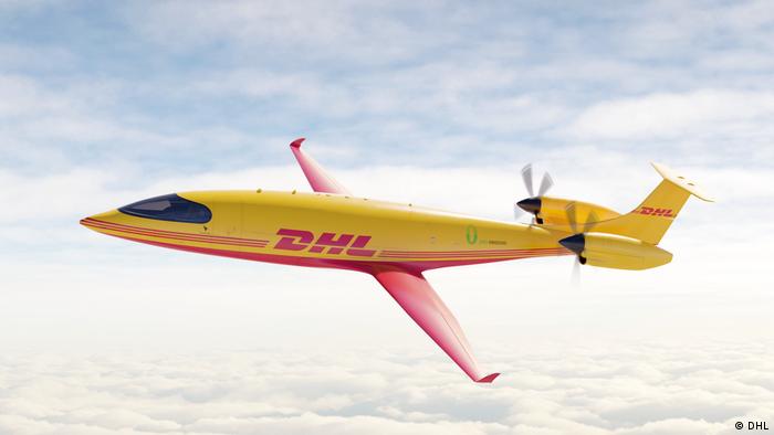 Заказанный DHL грузовой электрический самолет компании Eviation