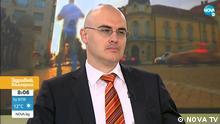 Peter Iliev, nominiert für Innenminister in Bulgarien. Screenshot vom Interview 9.8.21 mit ihm bei unserem Partner NOVA TV. Quelle: https://nova.bg/news/view/2021/08/09/336140/%D0%BF%D0%B5%D1%82%D1%8A%D1%80-%D0%B8%D0%BB%D0%B8%D0%B5%D0%B2-%D0%B7%D0%BD%D0%B0%D0%BC-%D0%BF%D1%8A%D1%82%D1%8F-%D1%81%D0%B8-%D0%B8-%D0%BF%D1%80%D0%BE%D0%B4%D1%8A%D0%BB%D0%B6%D0%B0%D0%B2%D0%B0%D0%BC-%D0%BD%D0%B0%D0%BF%D1%80%D0%B5%D0%B4/