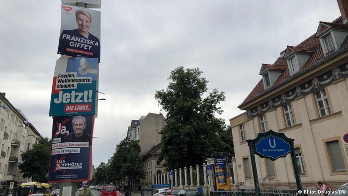 Germania| afișe electorale în Berlin