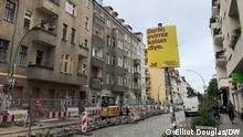On August 8, Berlin allowed election posters for the local and federal election in September to be put up by the parties contesting the votes. Parties try to sum up their policies with quick slogans -- and appeal to voters on the street who may only glance up for a few seconds.
