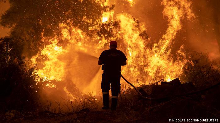 Ελλάδα, πυρκαγιές,