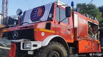 Πυροσβεστικό όχημα UNIIMA, Ψαχνά Ευβοίας