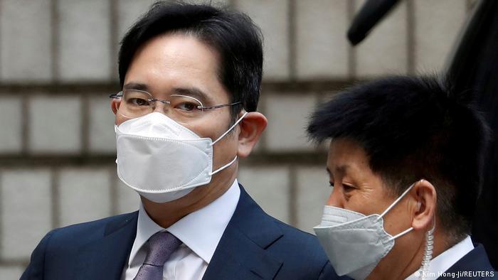 Südkorea Seoul   Gerichtsanhörung: Jay Y. Lee