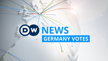DW News Germany votes (Sendungslogo)