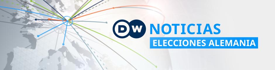 DW Noticias Elecciones Alemania (Program Guide Themenheader)