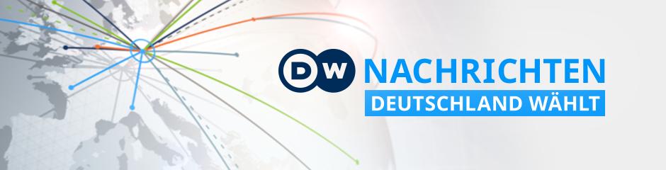 DW Nachrichten Deutschland wählt (Program Guide Themenheader)